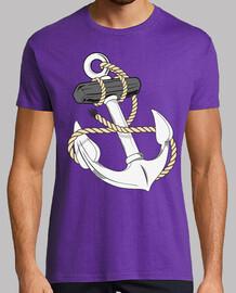 marine-anker mit seil