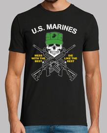 marines américains  T-shirt  mod.1