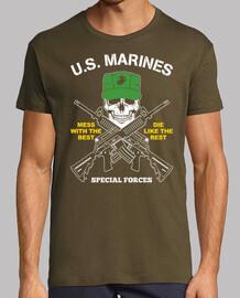 marines américains  T-shirt  mod.2