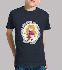 marionnettes  tee shirt  d'enfants