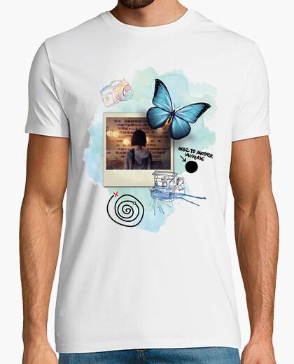 Camiseta Mariposa - foto - Life Is Strange (blanco)