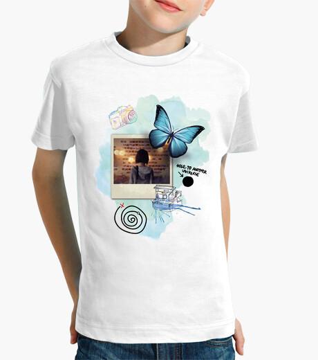 Ropa infantil Mariposa - foto - Life Is Strange (blanco)