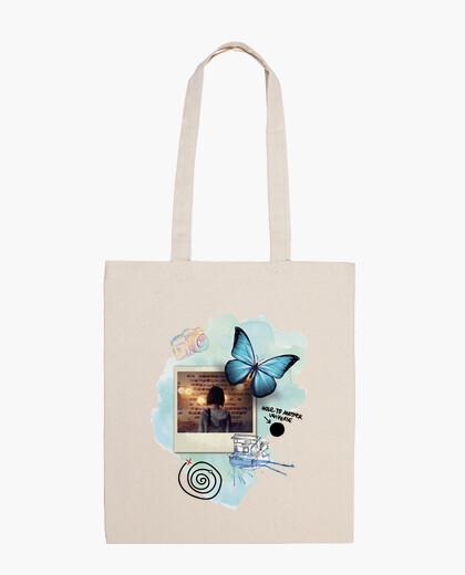 Bolsa Mariposa - foto - Life Is Strange (blanco)