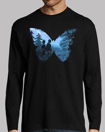 mariposa azul