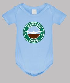 Mariposa Coffee Body bebé, celeste