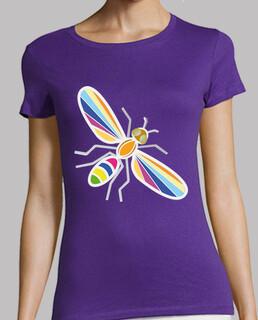 Mariposa colores.