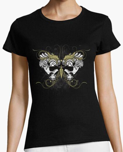 Camiseta Mariposa de calaveras