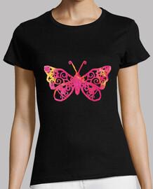 Mariposa de colores