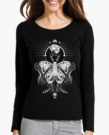 Camiseta Mariposa tribal tatuaje - dark tee