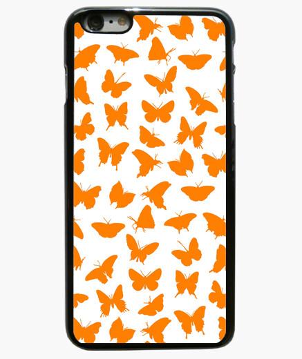 Funda iPhone 6 Plus / 6S Plus Mariposas naranjas