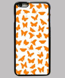 Mariposas naranjas