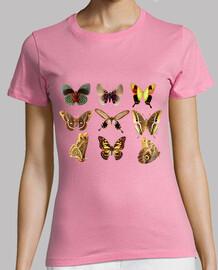 Mariposas voladoras