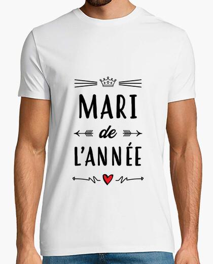 T-shirt marito dell'anno / matrimonio