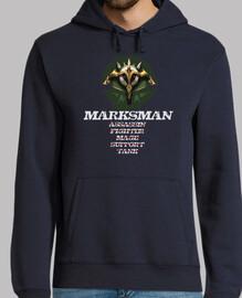 MARKSMAN sudadera