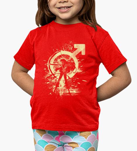Ropa infantil mars-tormenta roja