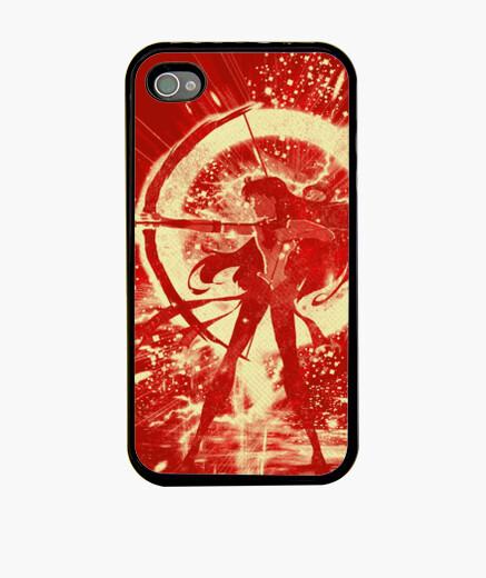 Funda iPhone mars-tormenta roja
