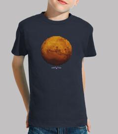 mars im dreieckt-kinder-t-shirt
