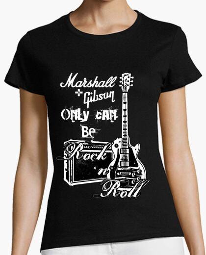 Tee-shirt marshall et gibson (moi)