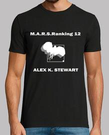 M.A.R.S.Raking 12 Alex Terra Formars Two Sides Black