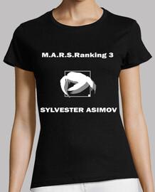 M.A.R.S.Raking 3 Sylvester Terra Formars Two Sides Black