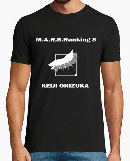 Camiseta M.A.R.S.Raking 8 Keiji Terra Formars Two Sides Black