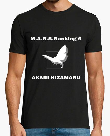 Camiseta M.A.R.S.Ranking 6 Akari Terra Formars Two Sides Black