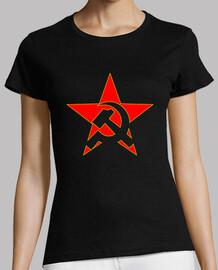 marteau et faucille étoile rouge