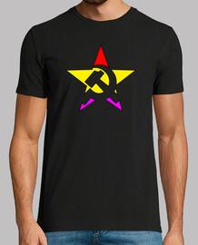 marteau et la faucille étoiles tricolore