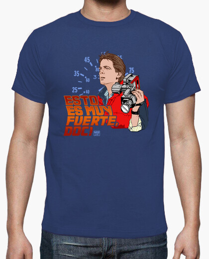 Camiseta Marty McFly (Regreso al Futuro)