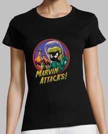Marvin Attacks Shirt Womens