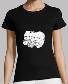 Marx, Engels & Varoufakis (mujer)