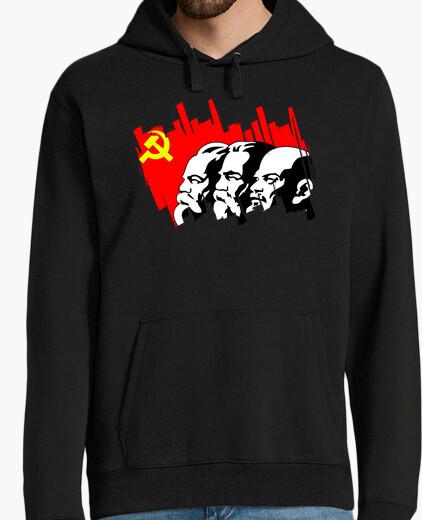 Sudadera Marx Engels Lenin