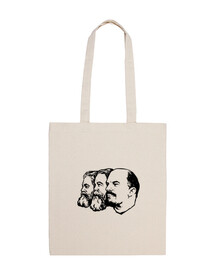 marx engels lenin bag black