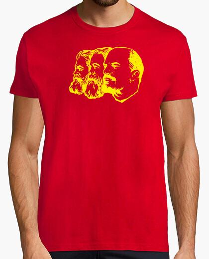 Tee-shirt Marx engels lénine jaune