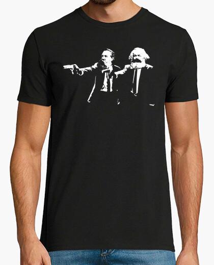 Marx engels pulp t-shirt