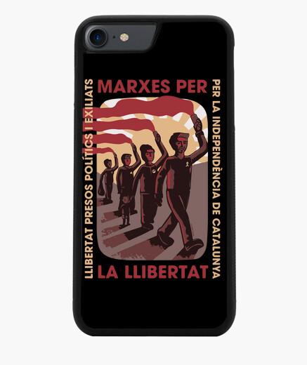 Funda iPhone 7 / 8 Marxes per la llibertat