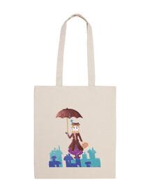 Mary Poppins Bandolera 100 algodón