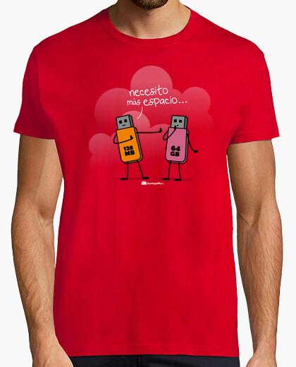 Camiseta Más espacio