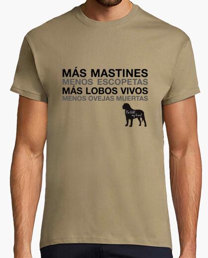 Camiseta Más Mastines m/c chico