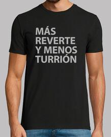 MÁS REVERTE Y MENOS TURRIÓN