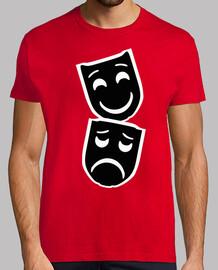Mascara / Mascaras / Teatro / Negro y B