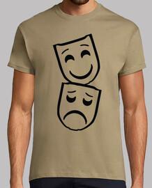 Mascara / Mascaras / Teatro / Silueta