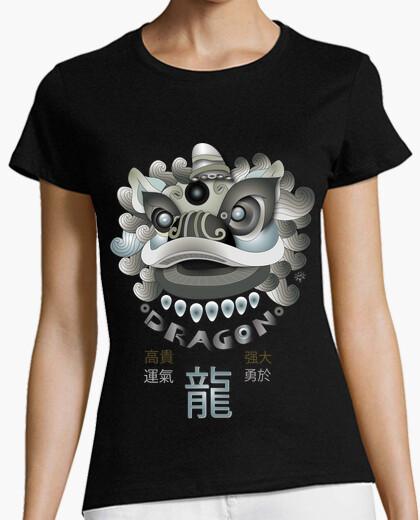 Camiseta MÁSCARA CHINA DE DRAGÓN
