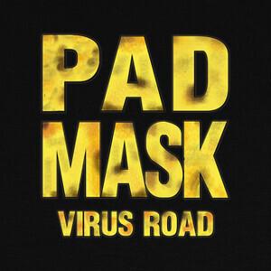 Tee-shirts máscara de almohadilla - virus road
