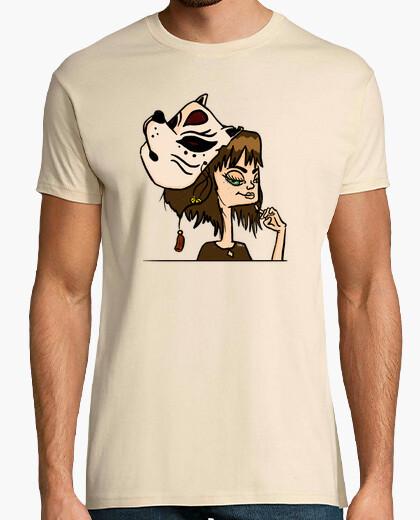 Camiseta Máscara japonesa a color