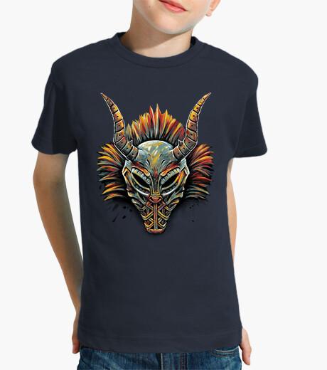 Ropa infantil máscara tribal killmonger