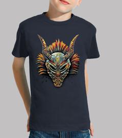 máscara tribal killmonger