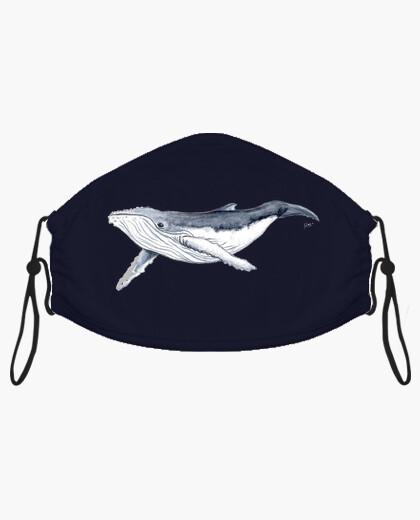 Mascarilla Bebe ballena yubarta
