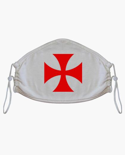 Mascarilla Cruz Templario