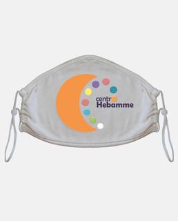Mascarilla de tela adulto, Centro Hebamme